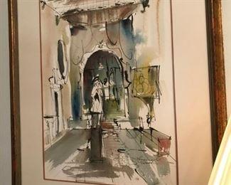 Harwood K. Smith - watercolor