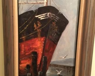 Arleen Husby - oil painting