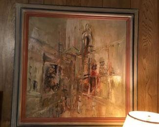 V. Burnet - oil painting