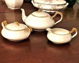 Haviland tea set