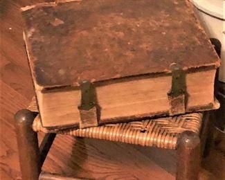 German Bible circa 1800