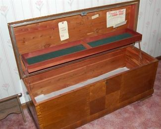 Virginia Maid Cedar Chest with Key