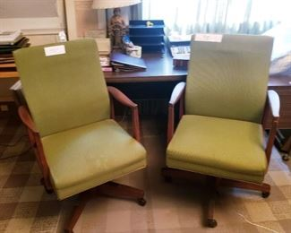 Mid-century office chairs