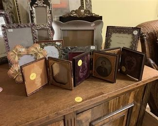 Antique picture frame and decorative picture frames.