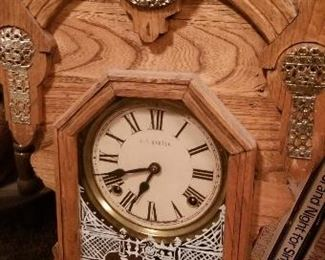 Another vintage mantle clock