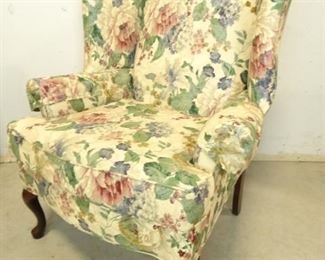 Chesterfield Floral Chair