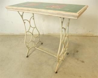 Outdoor Tile Table