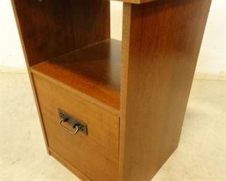Wooden File CabinetSide Table