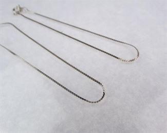 Matchiing Sterling Silver Bracelet Set