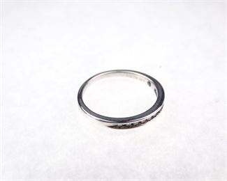 Platinaire & Diamond Ring, Size 7