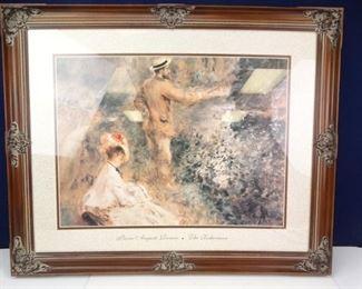 Framed Renoir Replica Print