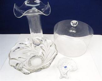 Assorted, Decorative Glassware Items