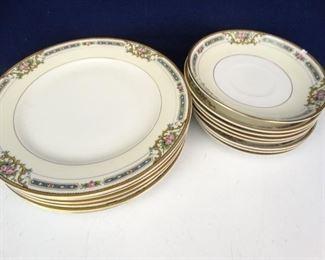 1920s Noritake YBRY Plates