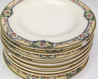 Mismatched Limoges Salad Plates