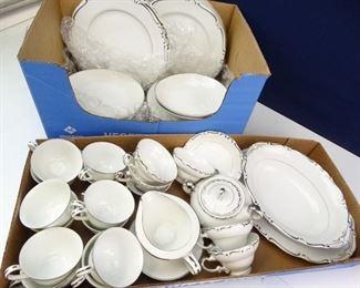 Mixed Fine China Plates
