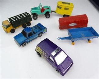 Diecast Truck Trailer Replica Vehicles