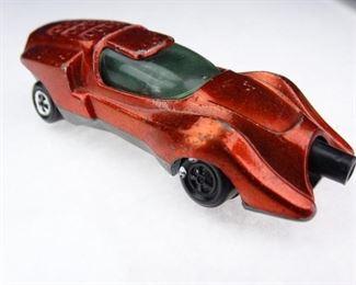 Vintage Johnny Lighting Screamer Orange Car