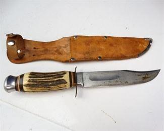 Vintage Edge Mark 375 Knife with Sheath