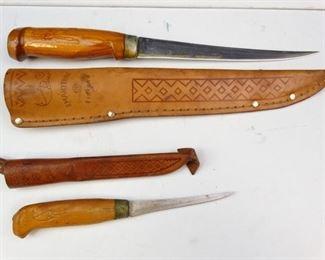 Vintage J. Martini Filet Knife Set