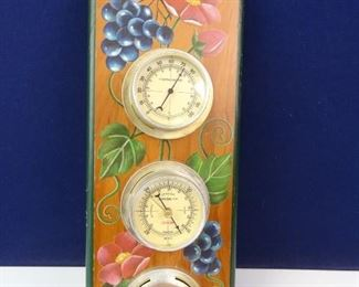 Decorative Outdoor ThermometerBarometerHygrometer