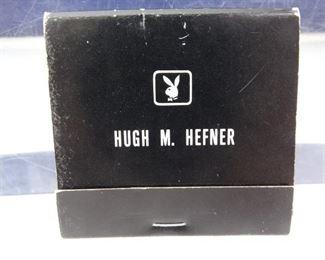 Hugh M. HefnerPlayboy Matchbook