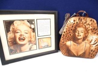 Marilyn Monroe Framed Photograph Bag