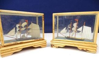 Wooden ShipinaBox Displays