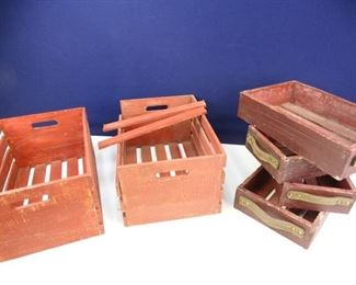 Red Cedar Storage Boxes