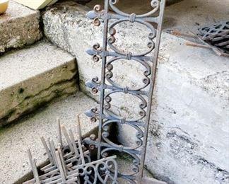 Decorative Cast Iron Pieces
