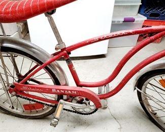 Vintage Schwinn Bicycle - Bantam