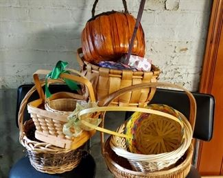 Variety Of Baskets