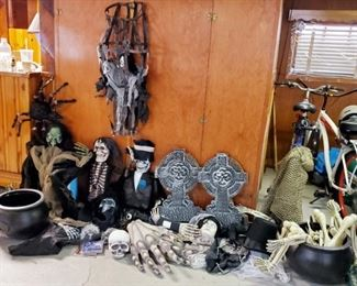 Tons Of Halloween Decorations & Costumes