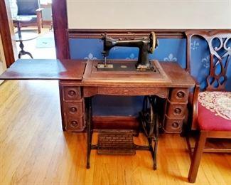 Wheeler & Wilson Sewing Machine