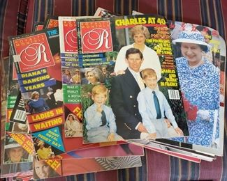 23 Vintage Royalty Monthly Magazines