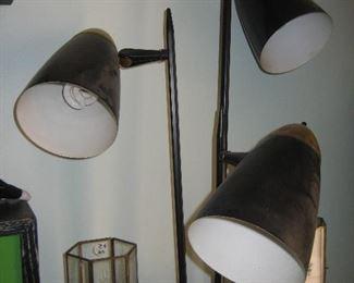 60s three-way lamp fixture