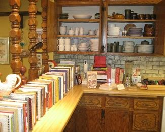 Cookbooks, Denby and other tableware