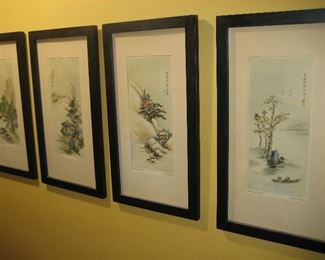 The Four Seasons framed prints