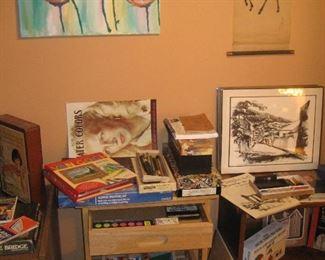 Art supplies and artwork