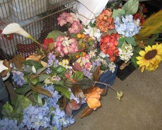 Faux flowers