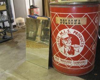 Large vintage canister
