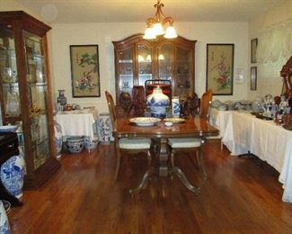 FULL Dining Room of Oriental Treasures as well as African