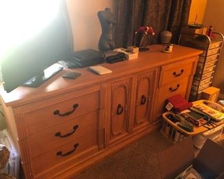 Just dresser not items on top