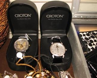 Croton watches, new in box