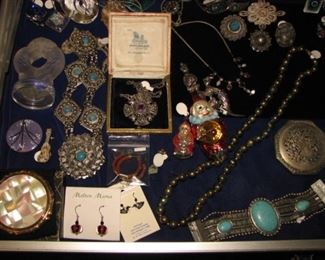 Jewelry and Mexican silver