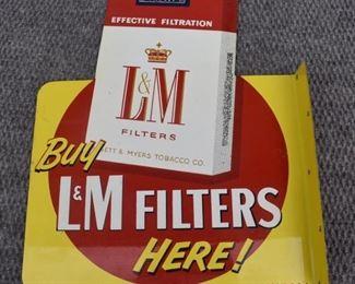 L&M Flang Sign