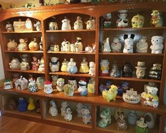 Wall of Cookie Jars!!!