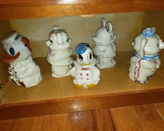 Disney Double Sided Cookie Jars