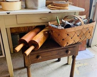 Wide Variety of Primitive Kitchen Items
