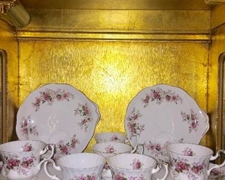 Vintage Royal Albert luncheon set for 6