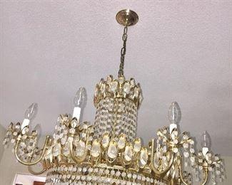 Gorgeous vintage Deco style chandelier
